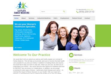 La Plata Family Medicine Web Design - Graphic Assassin - Durango Colorado