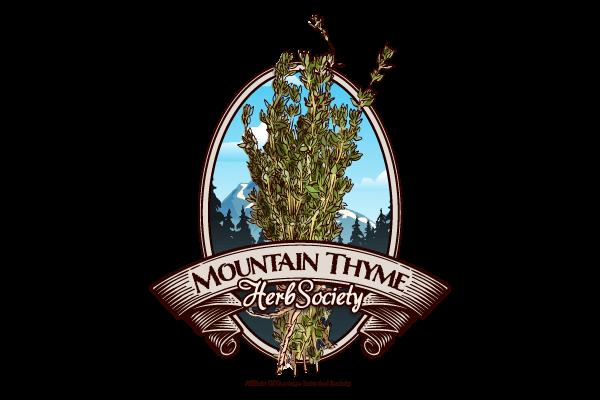 Mountain Thyme Herb Society Logo Design - Graphic Assassin - Durango - Colorado -Graphic Design - Web Design - Mobile Design