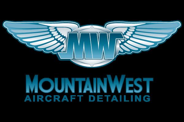 Mountain West Aircraft Detailing Logo Design - Graphic Assassin - Durango - Colorado -Graphic Design - Web Design - Mobile Design