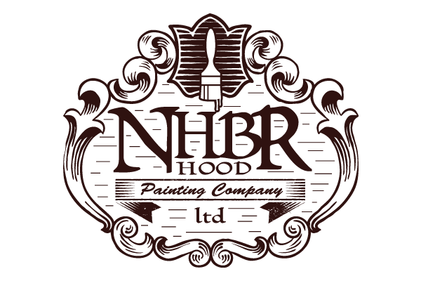 NHBR Painting Company Logo Design - Graphic Assassin - Durango - Colorado -Graphic Design - Web Design - Mobile Design